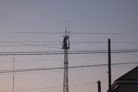 антенна на монтажной высоте, Н=15м