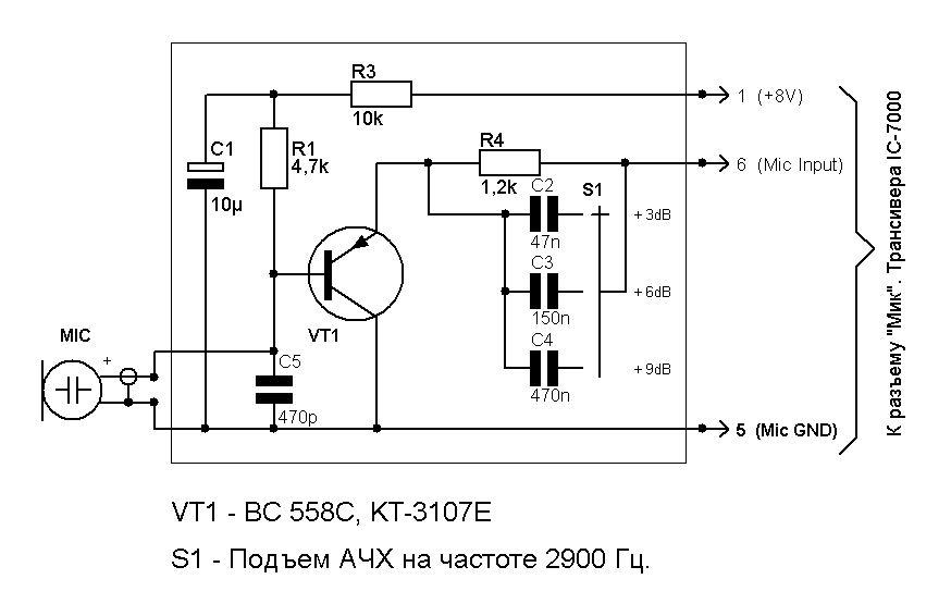 Icom IС-7000-mikrof-1-.