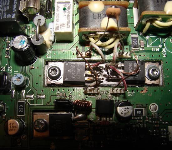 и конденсатор (C1 R7 и C2