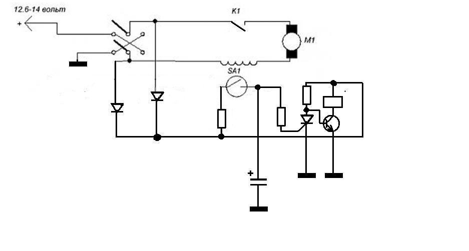 Ищу схему токового реле защиты
