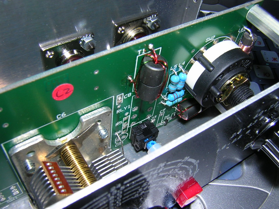 Преселектор MFJ-1040C - вещица