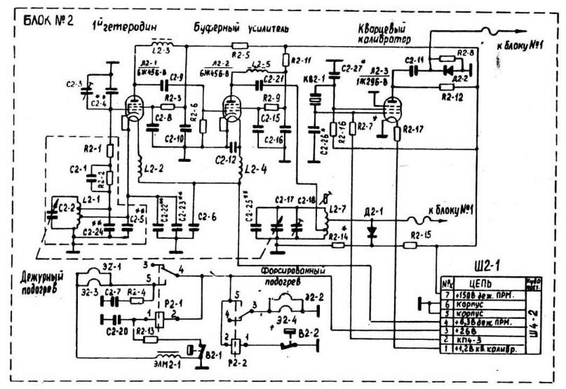 Вот ГПД от Р-123 , схема .
