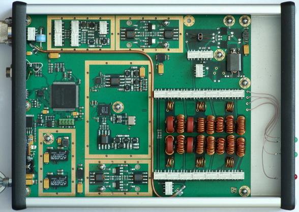 Приемная часть трансивера ZS-1 построена по схеме прямого (цифрового) преобразования.