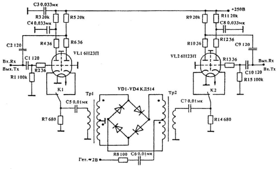 Модернизация трансивера