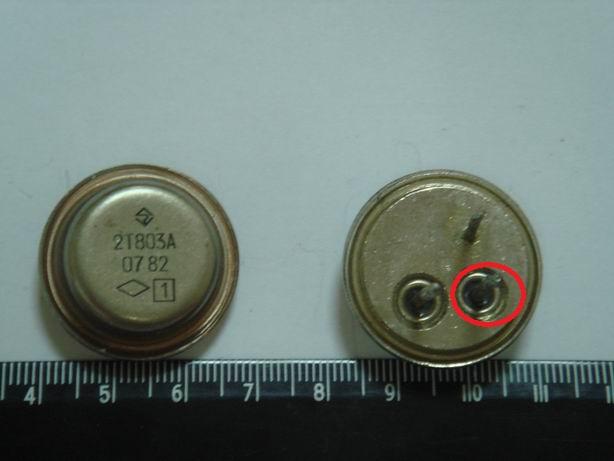 фотографии транзисторов.