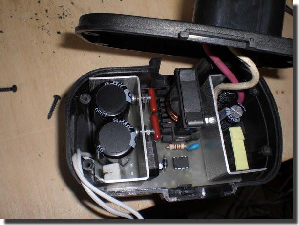 Технический форум - Показать сообщение отдельно - Переделка шуруповерта с аккумуляторного на сетевое питание.