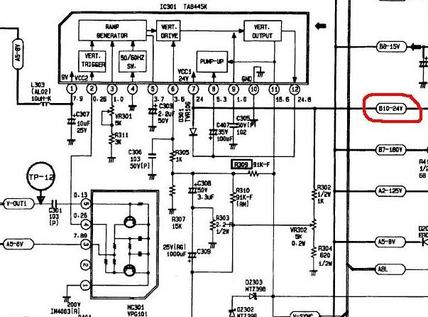 Ck 5073z схема телевизора