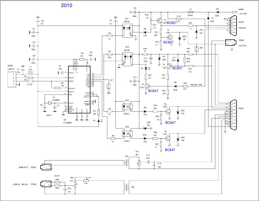 TS-200x: подключение к